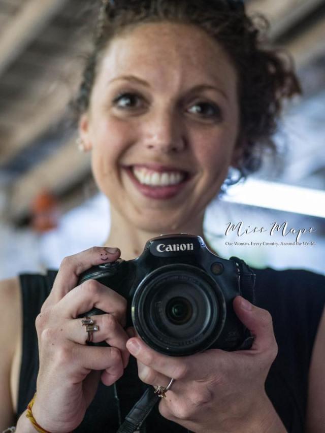 Miss Maps Tattoo and Canon - Anika Mikkelson - www.MissMaps.com - photo by Betti Mo