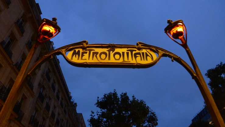 Paris's metro system carries over 4 million people each day
