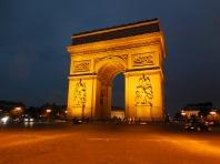 Arc de Triomphe - Paris France - by Anika Mikkelson - Miss Maps
