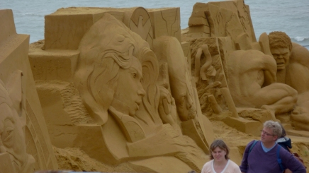 Seaside Sand Sculptures Oostende, Belgium