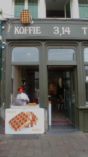 Belgian Waffles Bruges, Belgium July 22, 2014