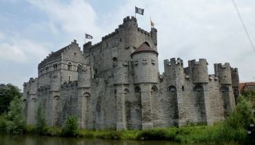 Gravensteen Castle Ghent, Belgium July 22, 2014