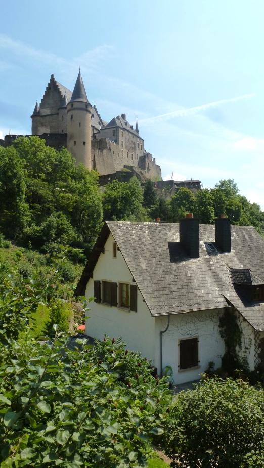 Vianden Castle Vianden, Luxembourg July 26, 2014