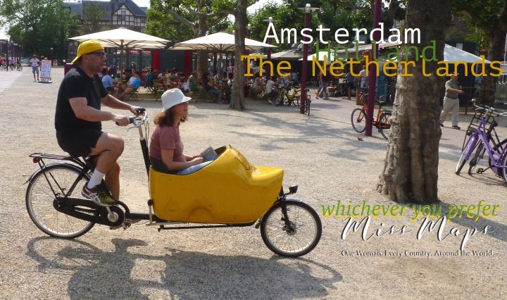 Amsterdam The Netherlands Holland - by Anika Mikkelson - Miss Maps - www.MissMaps.com