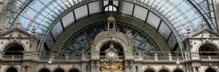 Inside Antwerp's Train Station - Antwerp, Belgium - by Anika Mikkelson - Miss Maps