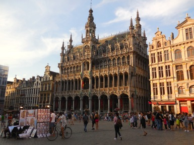 Buildings of Brussels Belgium - by Anika Mikkelson - Miss Maps