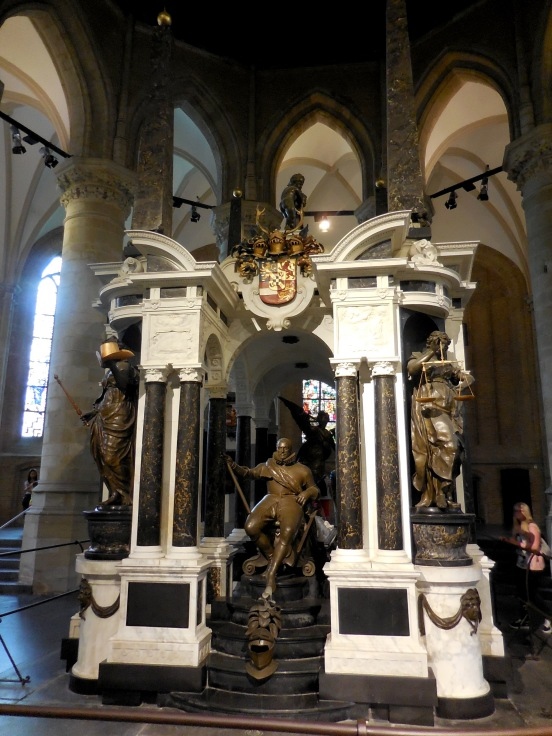The tomb of William of Orange Delft, The Netherlands July 29, 2014