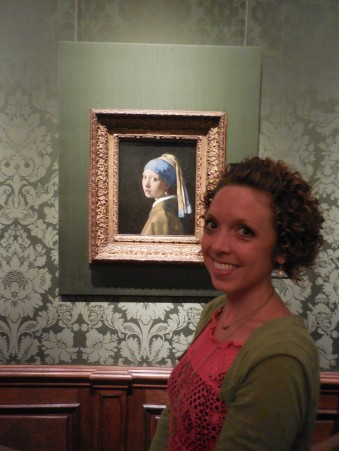 Yay! The Girl With the Pearl Earring Mauitshuis, Den Haag, Netherlands   July 29, 2014