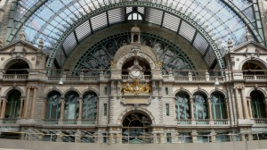 The beautiful Antwerp Train Station Antwerp, Belgium   July 24, 2014