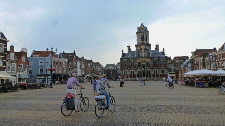 City Hall and City Folk Delft, The Netherlands July 29, 2014