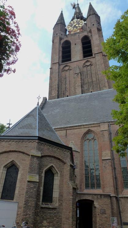 Oude Kerk Delft, The Netherlands July 29, 2014
