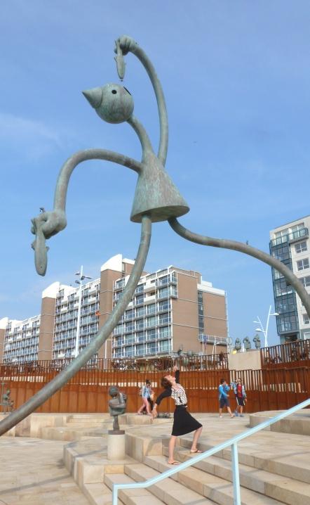 Seaside Sculptures Scheveningen, Netherlands July 29, 2014