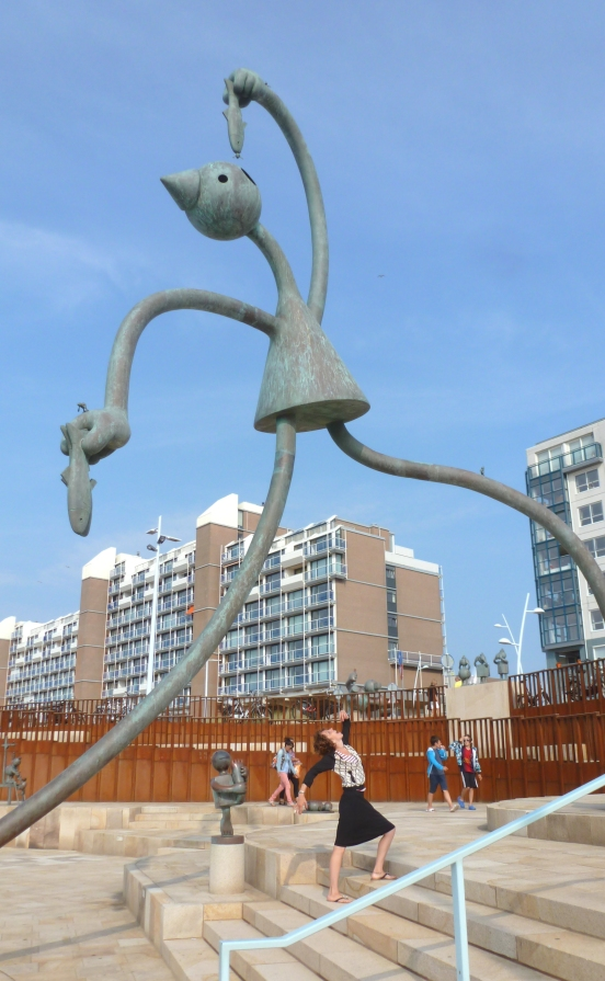 Seaside Sculptures Scheveningen, Netherlands July 29, 2014