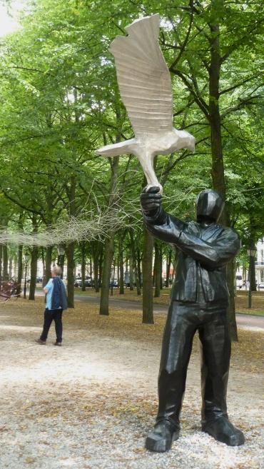A sculptor's remake of Ben's Vianden Castle experience Den Haag, The Netherlands   July 30, 2014