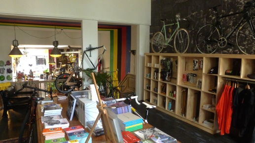 Lola Bikes and Coffee- two delights in one space Den Haag, Netherlands July 31, 2014