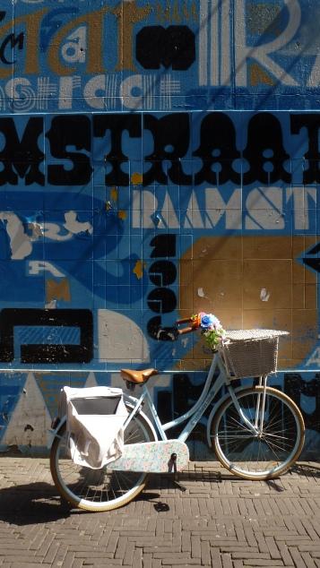 Blue Bici Baskets Den Haag, The Netherlands July 30, 2014