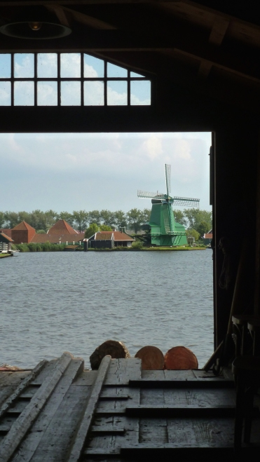 Zaanse Schans, The Netherlands July 31, 2014