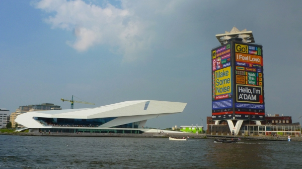 The Eye Museum on Lake Ij