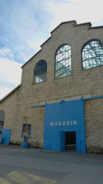 Le Magasin, built for the World's Fair by Eiffel (the same architect as his namesake) and brought to Grenoble in 1900.