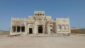 Bullet-Ridden Home of Failaka Island, Kuwait - by Anika Mikkelson - Miss Maps