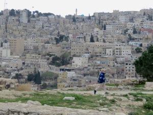Running Amongst the Ancient Ruins - Amman, Jordan