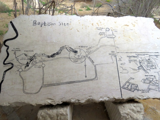 The sites from atop Mount Nebo