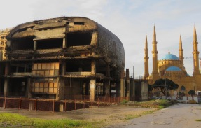 Destroyed and Pristine Architecture of Downtown Beirut, Lebanon - by Anika Mikkelson - Miss Maps