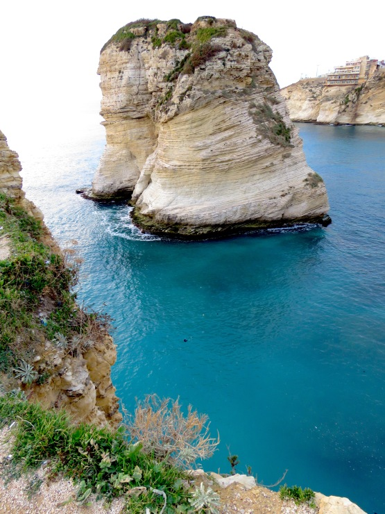 Raouche, Pigeon's Rock, in Beirut