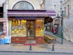 Turkish Delights Cafe - Istanbul Turkey - by Anika Mikkelson - Miss Maps
