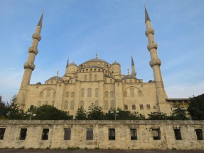 Istanbul's Sultan Ahmed Mosque, or Blue Mosque - Istanbul Turkey - by Anika Mikkelson - Miss Maps