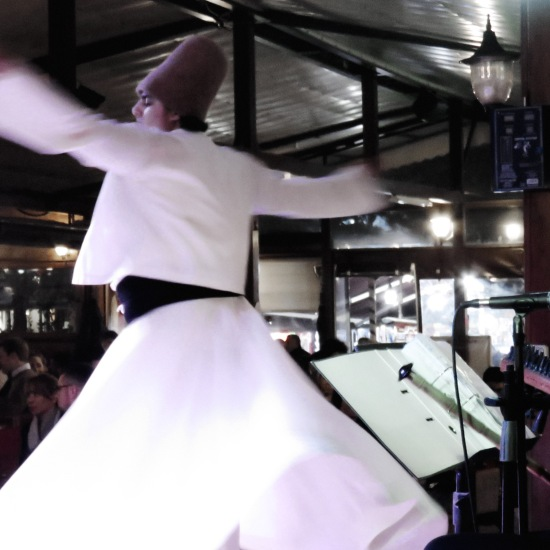 Whirling Dervishes at Dinner