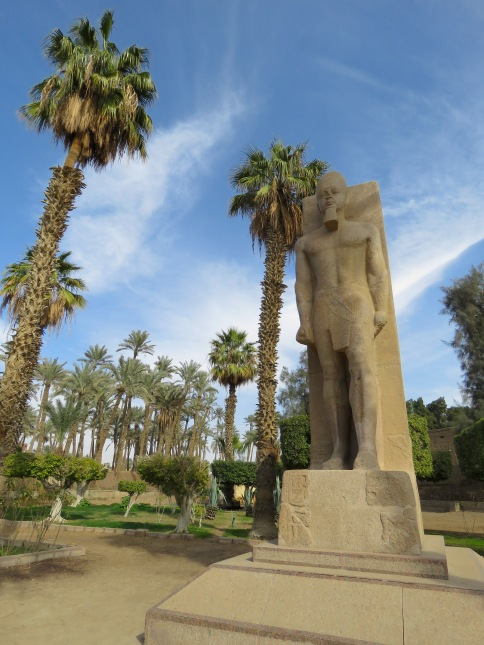The Open Air Museum on Memphis, Egypt