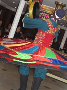 Spinning Tanoura dancer in Cairo Egypt - by Anika Mikkelson - Miss Maps