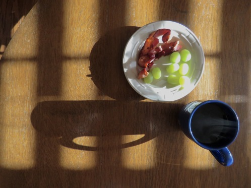 Coffee and Bacon Shadows