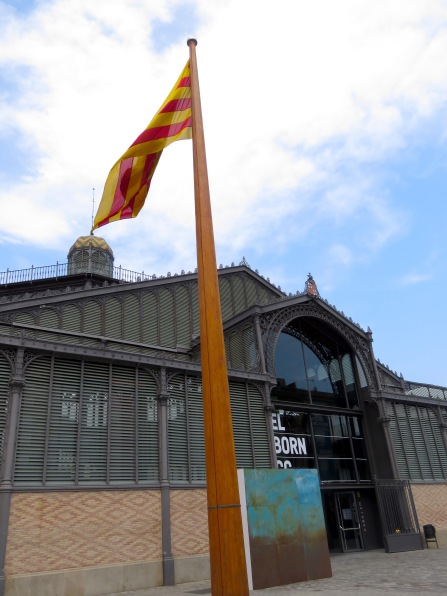 Market del Born, a tribute to Barcelona's original market of the same name and local, operating from 1878-1971