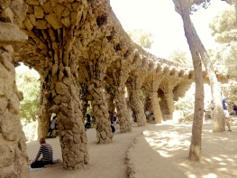 Park Guell - Barcelona Spain - by Anika Mikkelson - Miss Maps