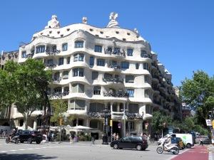 Casa Milà, built 1906-1910 by Antoni Gaudi