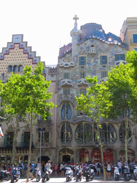 Gaudi's Casa Batllo - Barcelona, Spain