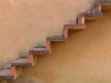 Stairs - Jaipur India - December 2014