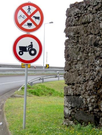 Street Signs - Sao Miguel - Porto - Portugal