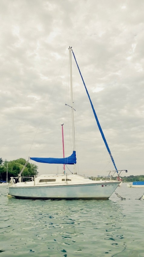 Sailboat on Lake Harriet - Minneapolis, Minnesota