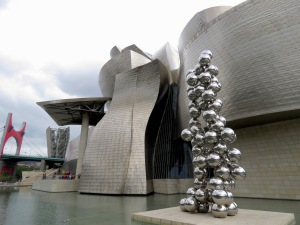 Guggenheim Museum - Bilbao, Spain - July, 2015