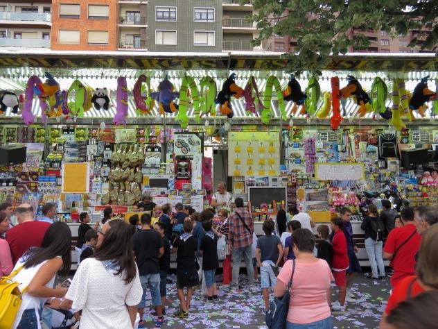 Portugalete, Spain - July 2015