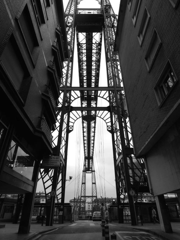 Vizcaya Bridge- Portugalete, Spain - July 2015