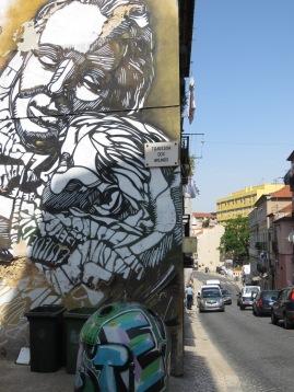 Lovely Graffiti - Porto, Portugal - by Anika Mikkelson - Miss Maps