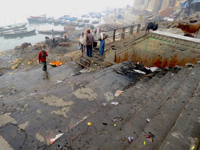 Manikarmika Ghat - Varanasi India