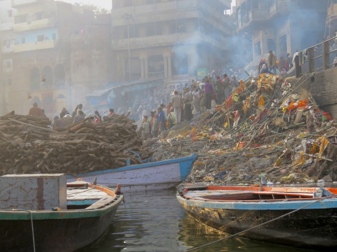 Manikarnika Ghat - Varanasi, India