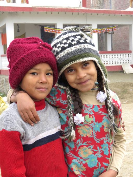 Welcoming Party - Lumbini, Nepal - December 2014