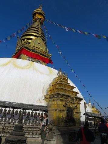 Monkey Temple - Kathmandu, Nepal - by Anika Mikkelson - Miss Maps
