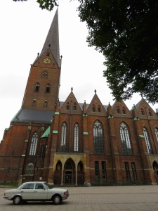 St. Peter's Church, Hamburg Germany - July 2015